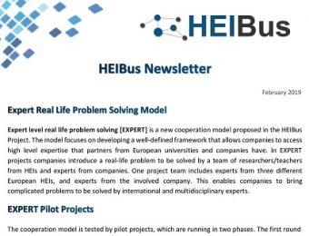 Sixth HEIBus Newsletter