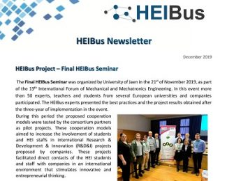 Seventh HEIBus Newsletter